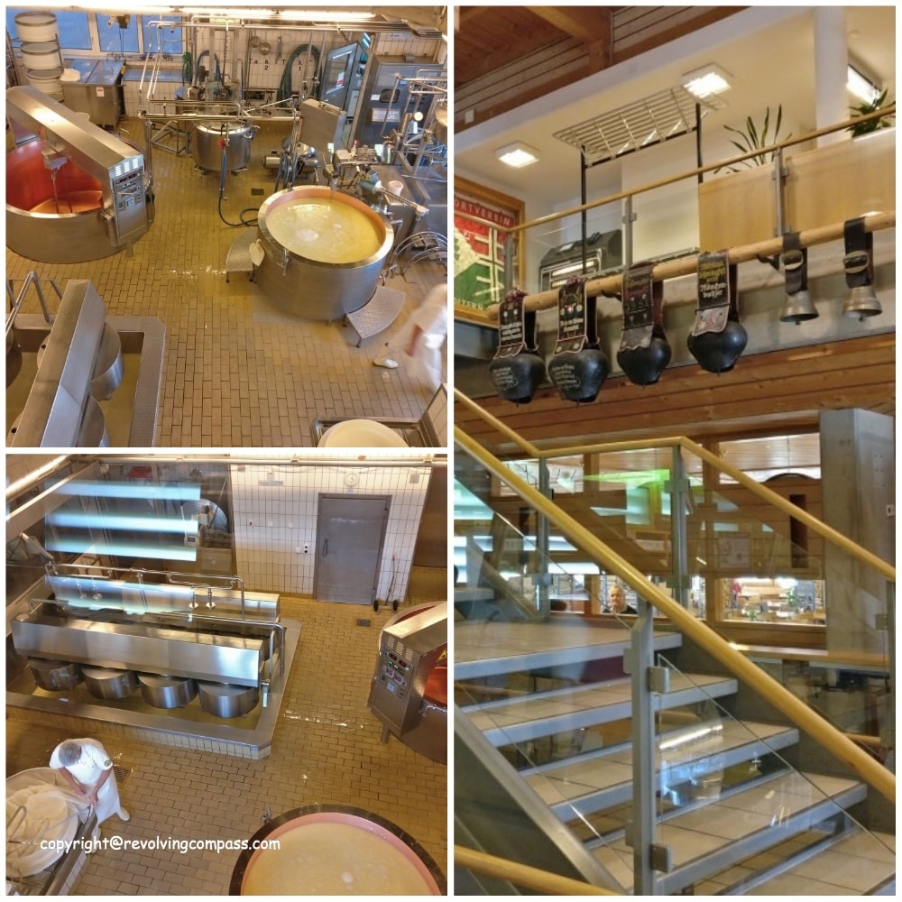 Cheese factory tour in Switzerland