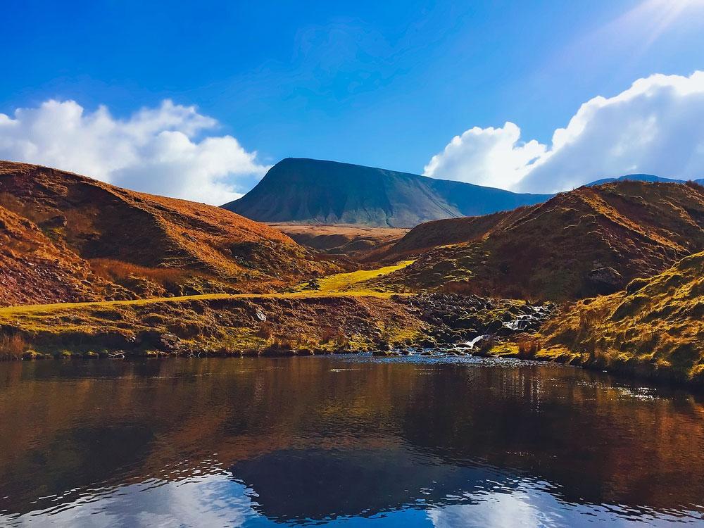 road trip in Wales
