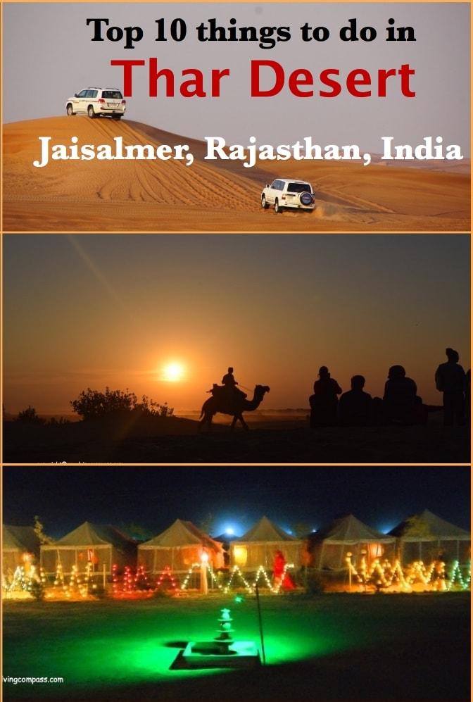 Top 10 things to do in the Thar Desert, Jaisalmer, Rajasthan, India | Desert Camp in Jaisalmer | Dune Bashing | Camel Safari