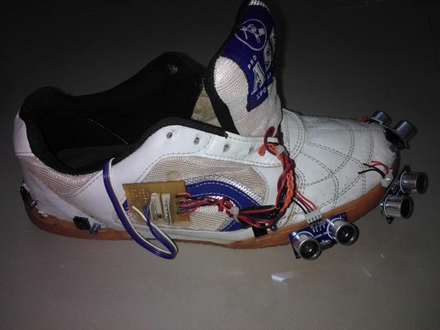 Walking Aid shoe side view