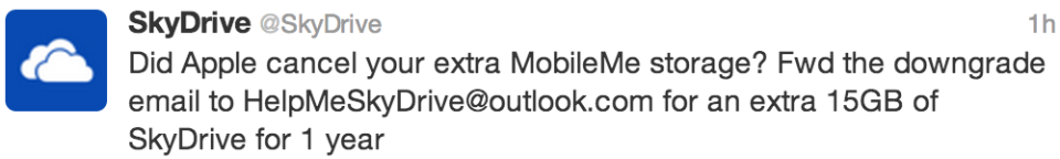 Move from MobileMe