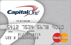 CapitalOne Secured MasterCard