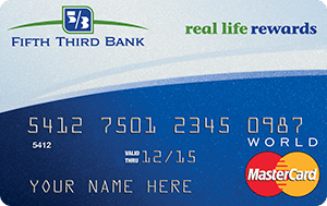 Fifth Third Real Life Rewards MasterCard