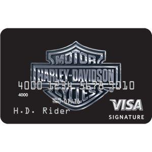 Harley Davidson Visa