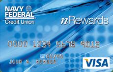 Navy Federal nRewards Secured Visa