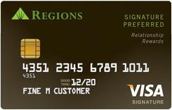 Regions Signature Preferred Visa
