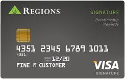 Regions Signature Visa