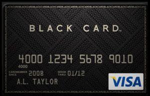 Visa Black Card