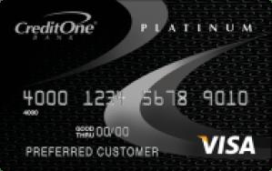 CreditOne Gas Rewards Visa
