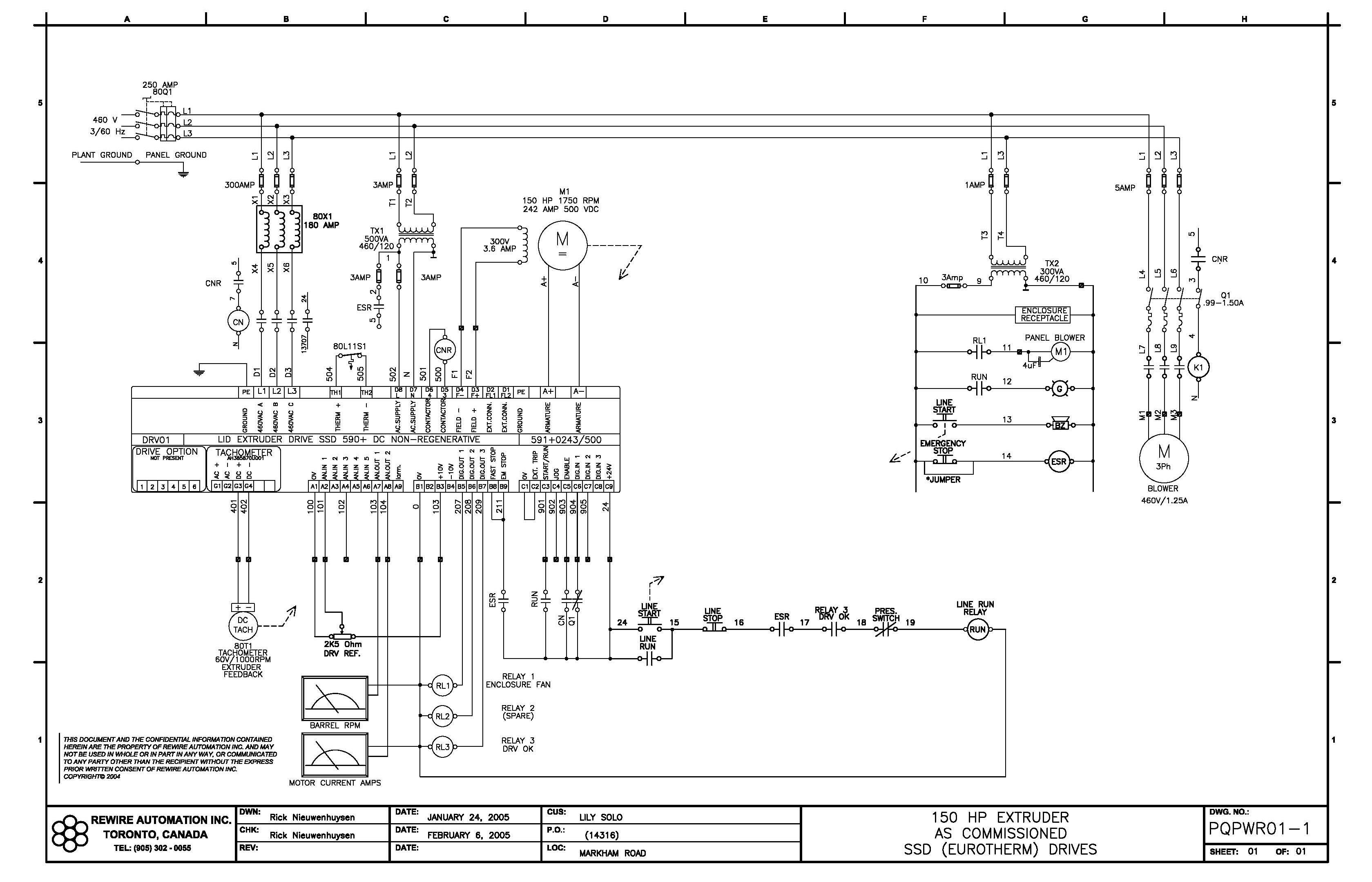 electrical drawings