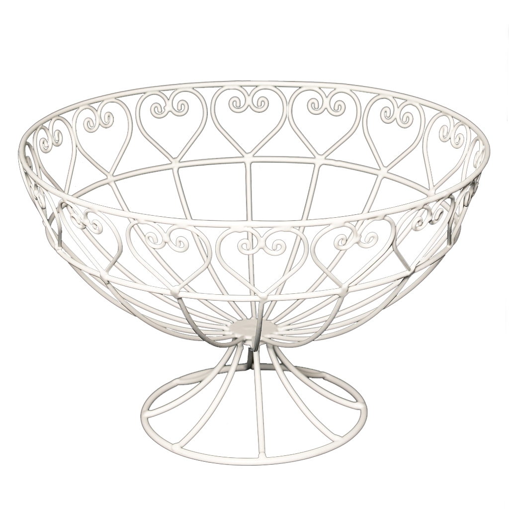 Wire Fruit Bowls Sweetheart Wire Fruit Bowl