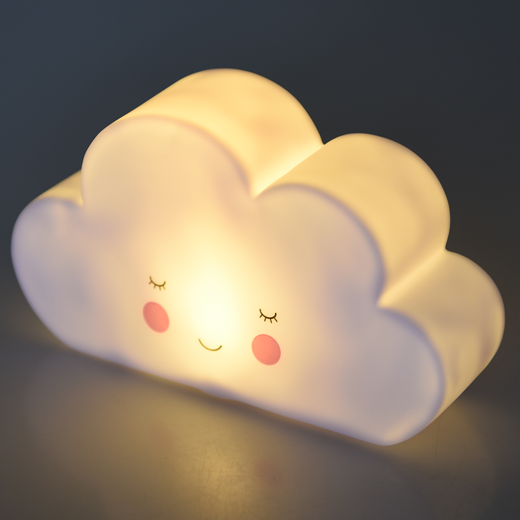Lamp And Nightlight Cloud Night Light Rex London Dotcomgiftshop