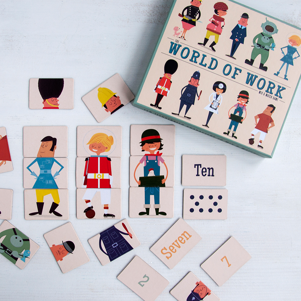 Mix And Match World Of Work Mix And Match Game Rex London Dotcomgiftshop