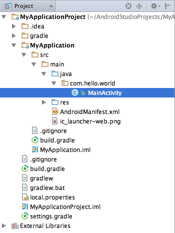 Android Studio Project Overview