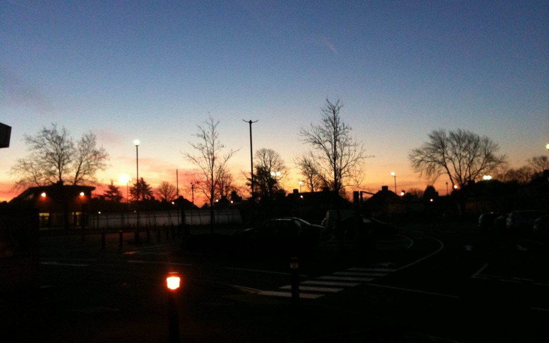 Funky Friday Photo: Sunrise over Braunstone
