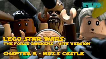 LEGO Star Wars the Force Awakens – PS VITA – Chapter 5 – Maz's Castle