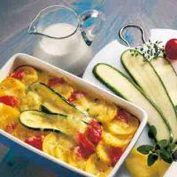 Kartoffel-Zucchini-Auflauf (cholesterinarm)