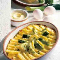 Kartoffelgerichte: Kartoffel-Lauch-Gratin