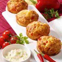 Pikante Vollkorn-Muffins für Diabetiker