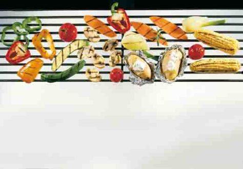 Vegetarisches vom Grill Foto: Wirths PR