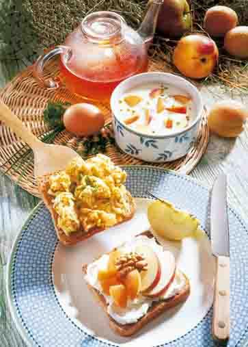 Apfel-Rezepte: Anti-Stress-Frühstück Foto: Wirths PR
