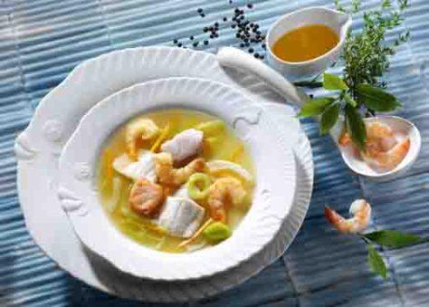 Fischsuppe (für Diabetiker) Foto: Wirths PR