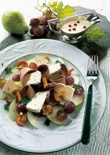 Pilzgerichte: Wildsalat Foto: Wirths PR