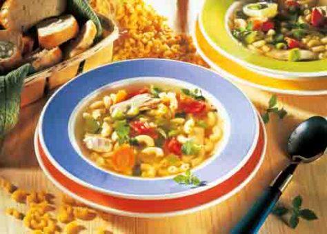 Hühnertopf leicht & frisch (für Diabetiker) Foto: Wirths PR