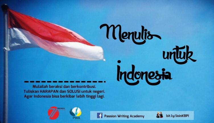 Menulis untuk Indonesia