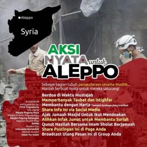 Aksi Nyata untuk Aleppo