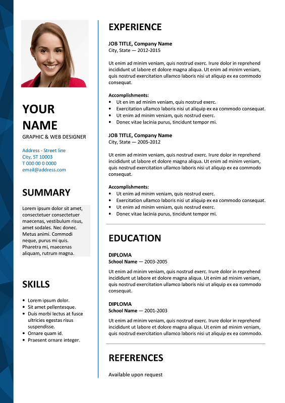 How To Write A Resume For Free Using Microsoft Wikihow Dalston Newsletter Resume Template