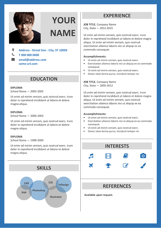 resume io free download