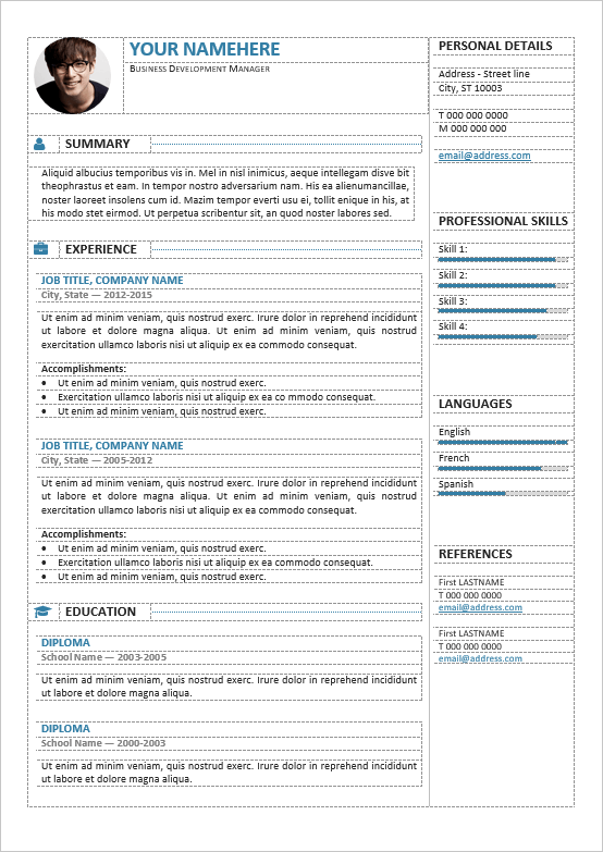 Free canadian resume maker