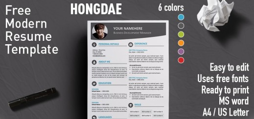 Free Resume Templates With Colored Header Rezumeet - free word templates resume
