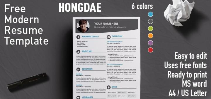 modern resume styles 2016