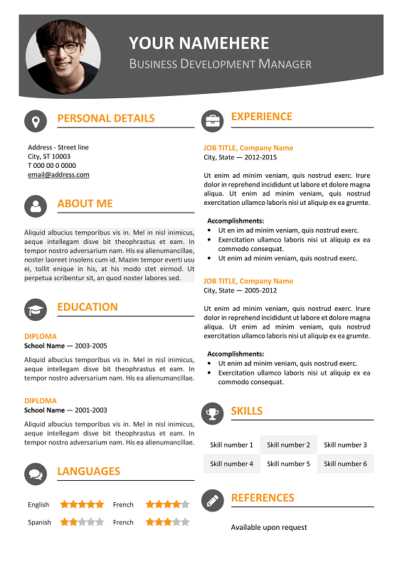 What Are The Best Resume Fonts In Microsoft Word Quora Hongdae Modern Resume Template