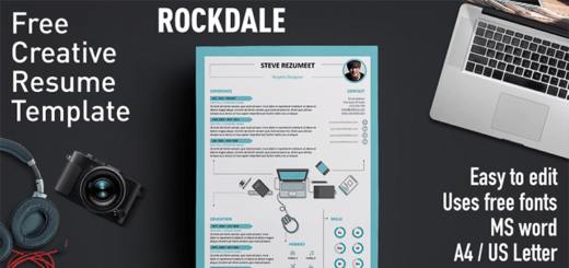 modern cv template download word