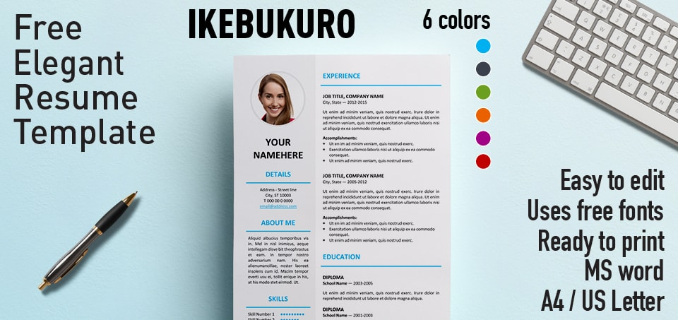 resume template website - Canreklonec