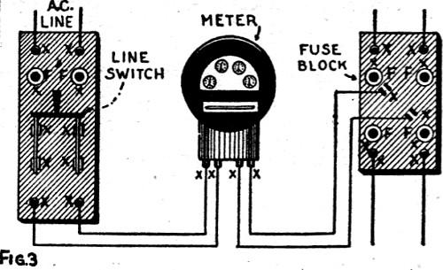 fuse box watt meter