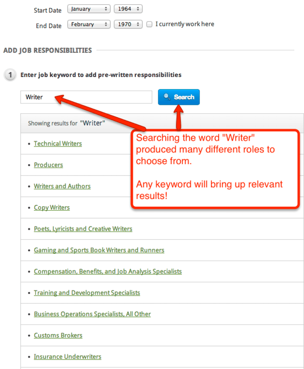 resume keyword search