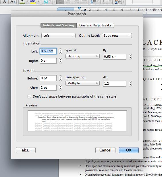Standard Resume Format Margins Settings For Resume Margins The Balance Resume Aesthetics Font Margins And Paper Guidelines