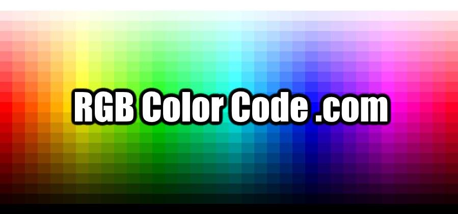 RGB Color Code 🎨