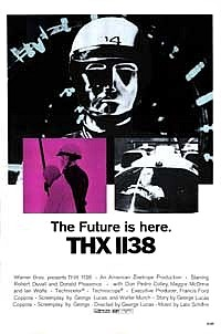 Wednesday Double Features - Seventies Science Fiction thx 1138