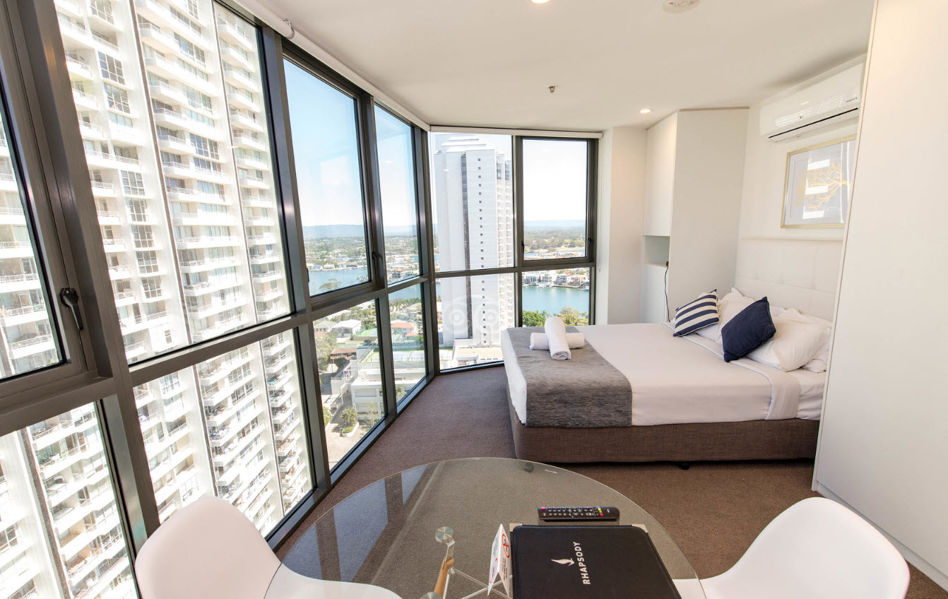 Studio Appartement Studio Apartment Rhapsody Resort Surfers Paradise Gold Coast
