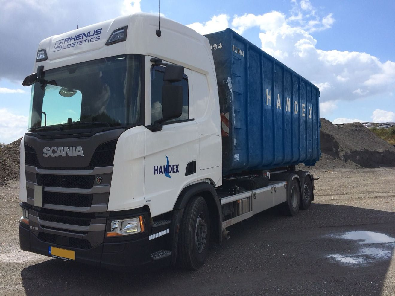 Recycling Bielefeld Waste Transport Recycling Logistics Rhenus Logistics
