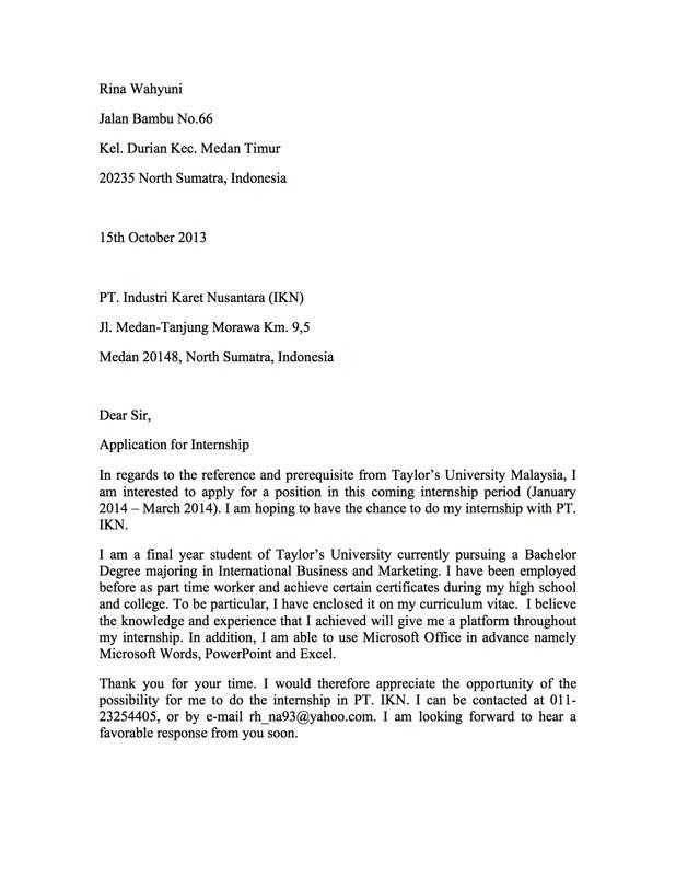 Cover Letter Deloitte Vorte