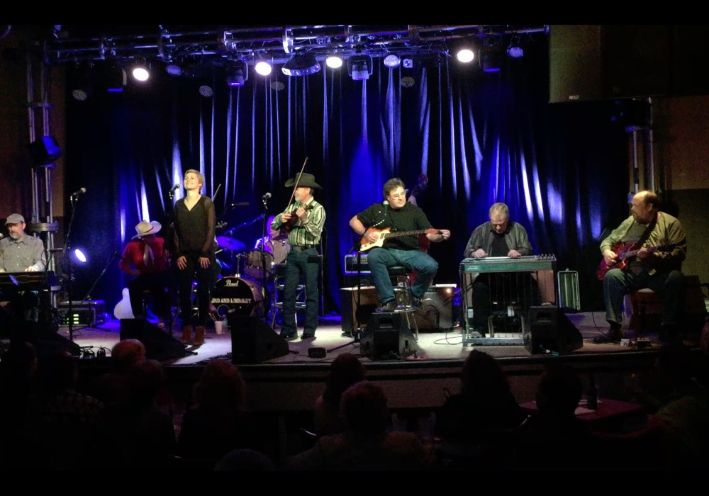 Rhoda sits in with Vince Gill and the Timejumpers!