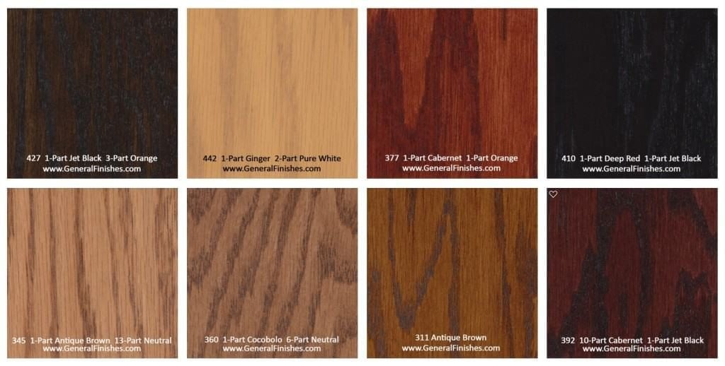 Hardwood Floor Stain Color Chart Rhodes Hardwood Flooring