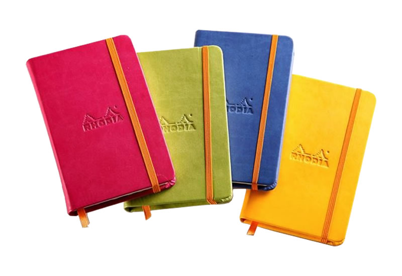 Rhodiarama Hard Cover Rhodia Weekly Notebooks and Planners