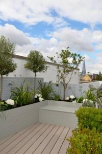 Tower Bridge Modern Garden Design Roof Penthouse Terrace ...